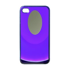 Ceiling Color Magenta Blue Lights Gray Green Purple Oculus Main Moon Light Night Wave Apple Iphone 4 Case (black)