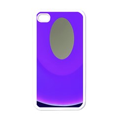 Ceiling Color Magenta Blue Lights Gray Green Purple Oculus Main Moon Light Night Wave Apple Iphone 4 Case (white)