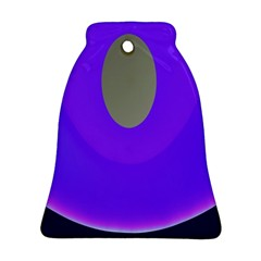 Ceiling Color Magenta Blue Lights Gray Green Purple Oculus Main Moon Light Night Wave Bell Ornament (two Sides)