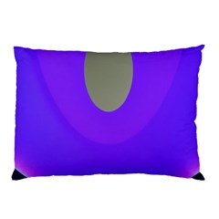 Ceiling Color Magenta Blue Lights Gray Green Purple Oculus Main Moon Light Night Wave Pillow Case (two Sides)