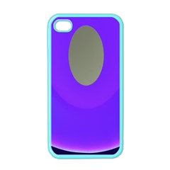 Ceiling Color Magenta Blue Lights Gray Green Purple Oculus Main Moon Light Night Wave Apple Iphone 4 Case (color)