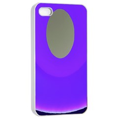 Ceiling Color Magenta Blue Lights Gray Green Purple Oculus Main Moon Light Night Wave Apple Iphone 4/4s Seamless Case (white)