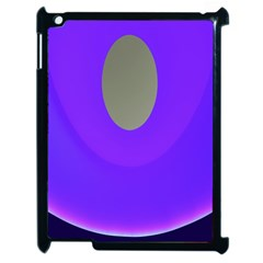 Ceiling Color Magenta Blue Lights Gray Green Purple Oculus Main Moon Light Night Wave Apple Ipad 2 Case (black)