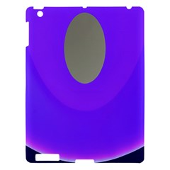 Ceiling Color Magenta Blue Lights Gray Green Purple Oculus Main Moon Light Night Wave Apple Ipad 3/4 Hardshell Case