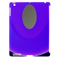 Ceiling Color Magenta Blue Lights Gray Green Purple Oculus Main Moon Light Night Wave Apple Ipad 3/4 Hardshell Case (compatible With Smart Cover)