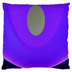 Ceiling Color Magenta Blue Lights Gray Green Purple Oculus Main Moon Light Night Wave Large Cushion Case (one Side)
