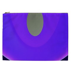 Ceiling Color Magenta Blue Lights Gray Green Purple Oculus Main Moon Light Night Wave Cosmetic Bag (xxl)