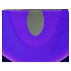 Ceiling Color Magenta Blue Lights Gray Green Purple Oculus Main Moon Light Night Wave Cosmetic Bag (xxxl)
