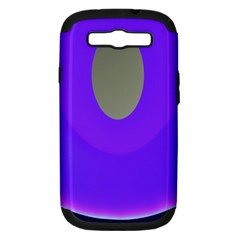 Ceiling Color Magenta Blue Lights Gray Green Purple Oculus Main Moon Light Night Wave Samsung Galaxy S Iii Hardshell Case (pc+silicone)
