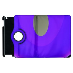 Ceiling Color Magenta Blue Lights Gray Green Purple Oculus Main Moon Light Night Wave Apple Ipad 3/4 Flip 360 Case