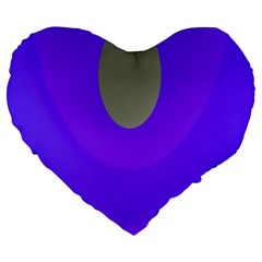 Ceiling Color Magenta Blue Lights Gray Green Purple Oculus Main Moon Light Night Wave Large 19  Premium Heart Shape Cushions