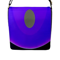 Ceiling Color Magenta Blue Lights Gray Green Purple Oculus Main Moon Light Night Wave Flap Messenger Bag (l)