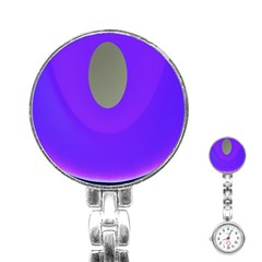 Ceiling Color Magenta Blue Lights Gray Green Purple Oculus Main Moon Light Night Wave Stainless Steel Nurses Watch