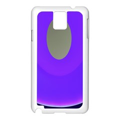 Ceiling Color Magenta Blue Lights Gray Green Purple Oculus Main Moon Light Night Wave Samsung Galaxy Note 3 N9005 Case (white)