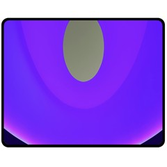 Ceiling Color Magenta Blue Lights Gray Green Purple Oculus Main Moon Light Night Wave Double Sided Fleece Blanket (medium)