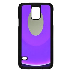 Ceiling Color Magenta Blue Lights Gray Green Purple Oculus Main Moon Light Night Wave Samsung Galaxy S5 Case (black)