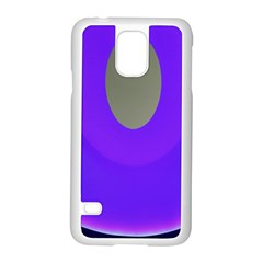 Ceiling Color Magenta Blue Lights Gray Green Purple Oculus Main Moon Light Night Wave Samsung Galaxy S5 Case (white)