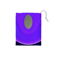 Ceiling Color Magenta Blue Lights Gray Green Purple Oculus Main Moon Light Night Wave Drawstring Pouches (small)