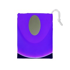 Ceiling Color Magenta Blue Lights Gray Green Purple Oculus Main Moon Light Night Wave Drawstring Pouches (medium)