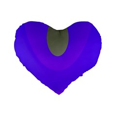 Ceiling Color Magenta Blue Lights Gray Green Purple Oculus Main Moon Light Night Wave Standard 16  Premium Flano Heart Shape Cushions