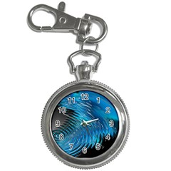 Waves Wave Water Blue Hole Black Key Chain Watches by Alisyart