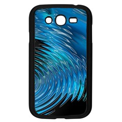 Waves Wave Water Blue Hole Black Samsung Galaxy Grand Duos I9082 Case (black) by Alisyart
