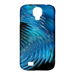 Waves Wave Water Blue Hole Black Samsung Galaxy S4 Classic Hardshell Case (pc+silicone) by Alisyart