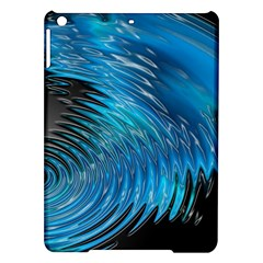 Waves Wave Water Blue Hole Black Ipad Air Hardshell Cases by Alisyart