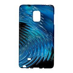 Waves Wave Water Blue Hole Black Galaxy Note Edge by Alisyart