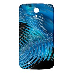 Waves Wave Water Blue Hole Black Samsung Galaxy Mega I9200 Hardshell Back Case by Alisyart