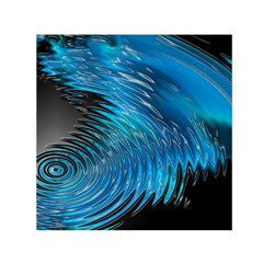 Waves Wave Water Blue Hole Black Small Satin Scarf (square) by Alisyart