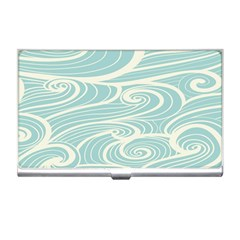 Blue Waves Business Card Holders by Alisyart