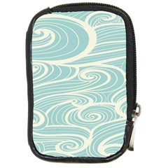 Blue Waves Compact Camera Cases by Alisyart
