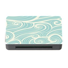 Blue Waves Memory Card Reader With Cf by Alisyart