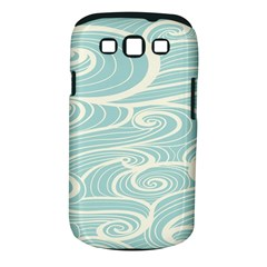 Blue Waves Samsung Galaxy S Iii Classic Hardshell Case (pc+silicone) by Alisyart