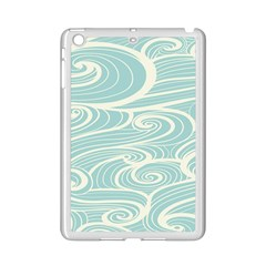 Blue Waves Ipad Mini 2 Enamel Coated Cases