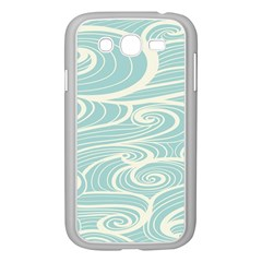 Blue Waves Samsung Galaxy Grand Duos I9082 Case (white) by Alisyart
