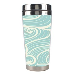 Blue Waves Stainless Steel Travel Tumblers