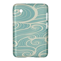 Blue Waves Samsung Galaxy Tab 2 (7 ) P3100 Hardshell Case  by Alisyart