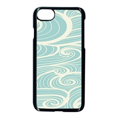 Blue Waves Apple Iphone 7 Seamless Case (black) by Alisyart