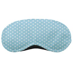 Circle Blue White Sleeping Masks