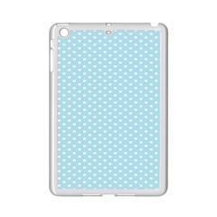 Circle Blue White Ipad Mini 2 Enamel Coated Cases