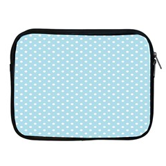 Circle Blue White Apple Ipad 2/3/4 Zipper Cases by Alisyart