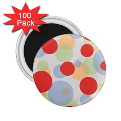 Contrast Analogous Colour Circle Red Green Orange 2 25  Magnets (100 Pack)  by Alisyart