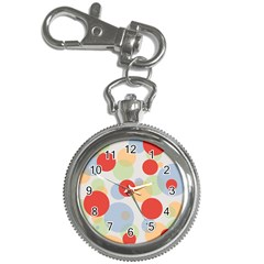 Contrast Analogous Colour Circle Red Green Orange Key Chain Watches by Alisyart