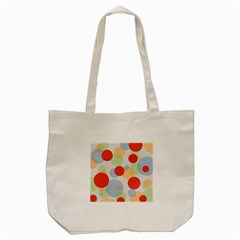 Contrast Analogous Colour Circle Red Green Orange Tote Bag (cream) by Alisyart
