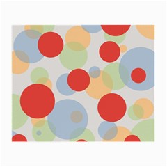 Contrast Analogous Colour Circle Red Green Orange Small Glasses Cloth (2 Side) by Alisyart