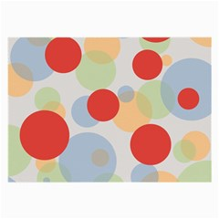 Contrast Analogous Colour Circle Red Green Orange Large Glasses Cloth by Alisyart