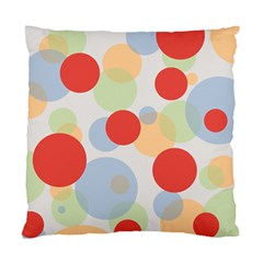 Contrast Analogous Colour Circle Red Green Orange Standard Cushion Case (one Side) by Alisyart