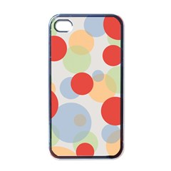 Contrast Analogous Colour Circle Red Green Orange Apple Iphone 4 Case (black) by Alisyart
